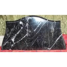 Marbre Noir de 2cm sculpté sur mesure (prix au m²)