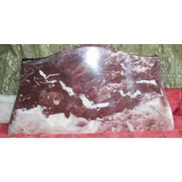 Marbre Rouge de 2cm sculpté sur mesure (prix au m²)