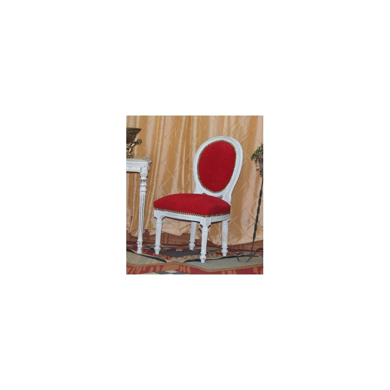 Chaise m daillon enfant de style louis xvi garcon 179 for Chaise medaillon enfant