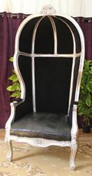 fauteuil carrosse noir